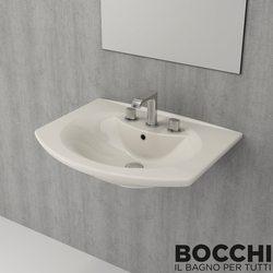 Bocchi - BOCCHI Verona Lavabo, 70 cm, Bisküvi