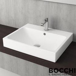 Bocchi - BOCCHI Scala Arch Tezgah Üstü Lavabo, 60 cm, Mat Beyaz