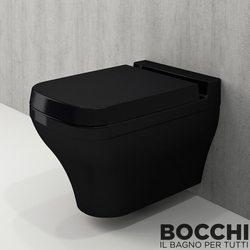 Bocchi - BOCCHI Scala Arch Asma Klozet, Parlak Siyah