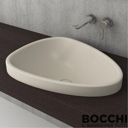 Bocchi - BOCCHI Etna Tezgah Üstü Lavabo, 58 cm, Yasemin