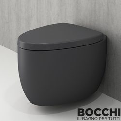 Bocchi - BOCCHI Etna Asma Klozet, Antrasit