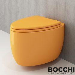 Bocchi - BOCCHI Etna Asma Klozet, Mandalina Sarısı