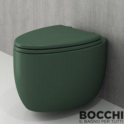 Bocchi - BOCCHI Etna Asma Klozet, Mat Yeşil