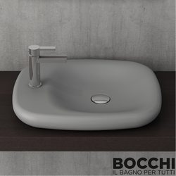 Bocchi - BOCCHI Fenice Çanak Lavabo, Gri