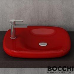 Bocchi - BOCCHI Fenice Çanak Lavabo, Kırmızı