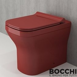 Bocchi - BOCCHI Tutti Slim Klozet Kapağı, Kırmızı