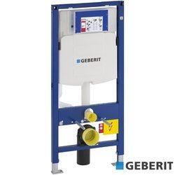 Geberit - Geberit Sigma Gömme Rezervuar Duvar Önü Alçıpan Uygulamalı Set, Kalın, Duofix