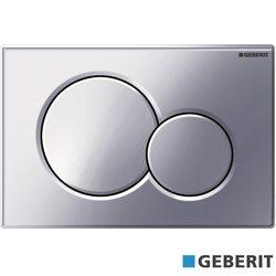 Geberit - Geberit Sigma01 Kumanda Kapağı, Çift Basmalı, Parlak Krom