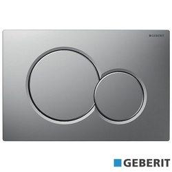 Geberit - Geberit Sigma01 Kumanda Kapağı, Çift Basmalı, Mat Krom