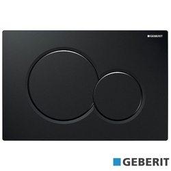 Geberit - Geberit Sigma01 Kumanda Kapağı, Çift Basmalı, Siyah