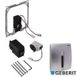 Geberit - Geberit HyBasic Fotoselli Pisuvar Kapağı, Basic Elektrikli, Mat Krom