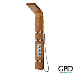 Gpd - GPD Masajlı Duş Paneli, Bambu