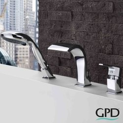Gpd - GPD Atros Ankastre Küvet Bataryası (3 Delikli)