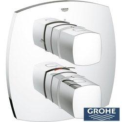Grohe - Grohe Grandera Termostatik Banyo Bataryası, Yön Değiştiricili (Sıva Üstü Grubu)