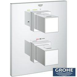 Grohe - Grohe Grohtherm Cube Termostatik Banyo,Duş Bataryası Dış Set