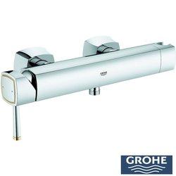 Grohe - Grohe Grandera Tek Kumandalı Duş Bataryası, Krom-Altın