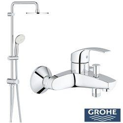 Grohe - Grohe New Tempesta 200 Duş Bataryalı Duş Sistemi