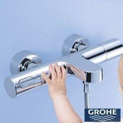 Grohe - Grohe Grohtherm 3000 Cosmopolitan Termostatik Banyo Bataryası