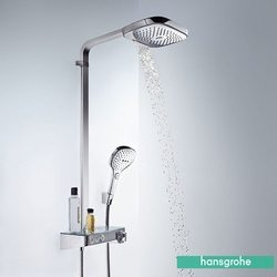Hansgrohe - Hansgrohe Raindance Select E Termostatik Bataryalı Duş Kolonu