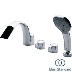 Ideal Standard - Ideal Standard Melange 4 Delikli Küvet Bataryası (Küvet Doldurma Gagalı)