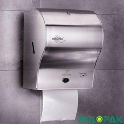 Rulopak - Rulopak Fotoselli Kağıt Havlu Makinası, Paslanmaz Çelik, 21 cm