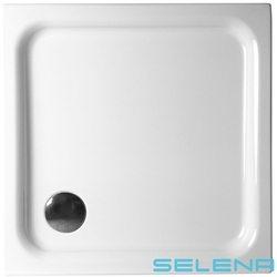 Selena - Selena 90x90 Kare Duş Teknesi, Ön ve Yan Panel Dahil