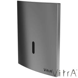 Vitra - Vitra Sıva Altı Fotoselli Pisuvar Yıkama Seti, (Elektrikli, Mat Krom)