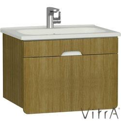 Vitra - Vitra D-Light Lavabo Dolabı 70 cm, Doğal Meşe