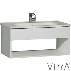 Vitra - Vitra D-Light Otel Ünitesi 90 cm, Mat Beyaz