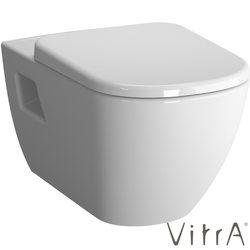 Vitra - Vitra D-Light Rim-Ex Kanalsız Asma Klozet (Yavaş Kapanır Slim Klozet Kapağı Dahil)