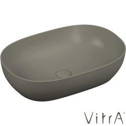 Vitra - Vitra Outline Oval Çanak Lavabo, 60 cm, Mat Gri