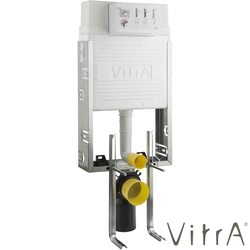 Vitra - Vitra Gömme Rezervuar, Metal Ayaklı Set, 2,5/4 Litre