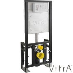 Vitra - Vitra Gömme Rezervuar Alçıpan Duvar İçi Uygulamalı Set, 2,5/4 Litre