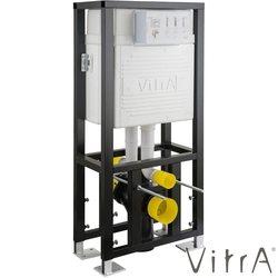 Vitra - Vitra Gömme Rezervuar Duvar İçi Sırt Sırta Uygulamalı Set, 2,5/4 Litre