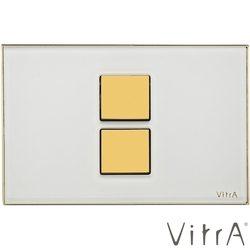 Vitra - Vitra Twin 2 Kumanda Paneli, Beyaz-Altın