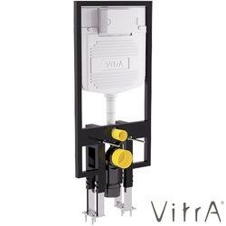 Vitra - Vitra Gömme Rezervuar Alçıpan Duvar İçi Uygulamalı Set, İnce, 2,5/4 Litre