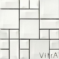 Vitra - Vitra 30x30 Day To Day Beyaz Mix Parlak
