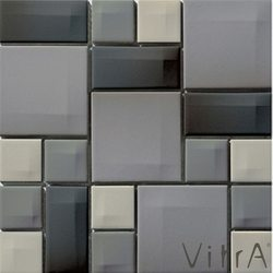 Vitra - Vitra 30x30 Day To Day Gri Mix Parlak
