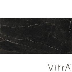 Vitra - Vitra 40x80 B&W Star Parlak Siyah Rektifiyeli (0,96 m2 fiyatı)
